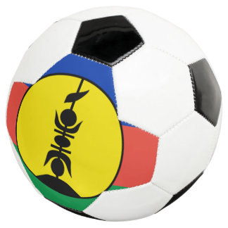 ニューカレドニアの旗 サッカーボール