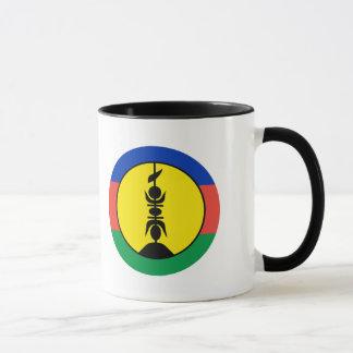 ニューカレドニアの旗 マグカップ