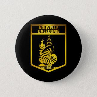 ニューカレドニアの紋章 5.7CM 丸型バッジ