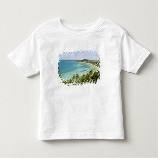 ニューカレドニアのTerreのグランデ島、ヌメア。 Anse 2 トドラーTシャツ