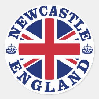 ニューキャッスルのヴィンテージのイギリスのデザイン ラウンドシール