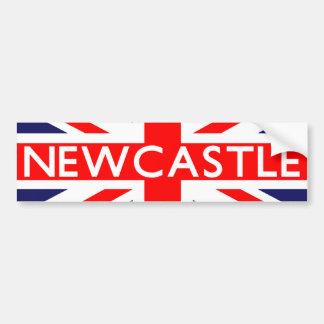 ニューキャッスル: イギリスの旗 バンパーステッカー
