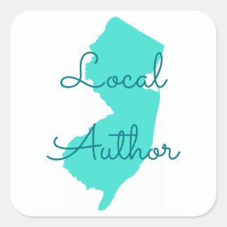 ニュージャージーのあなた自身のローカル作家を作成して下さい スクエアシール