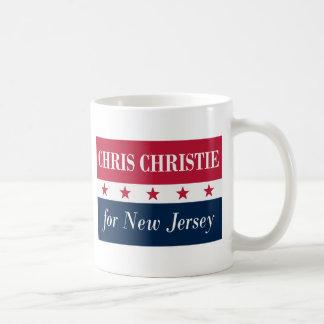 ニュージャージーのためのクリスChristie コーヒーマグカップ