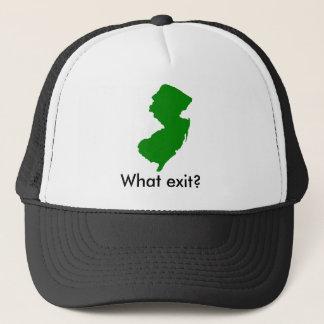 ニュージャージーのどんな出口か。 キャップ