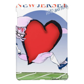 ニュージャージーのヘッドハート、贅沢なfernandes iPad miniケース