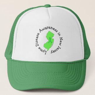 ニュージャージーのリボンの帽子のライム病の認識度 キャップ