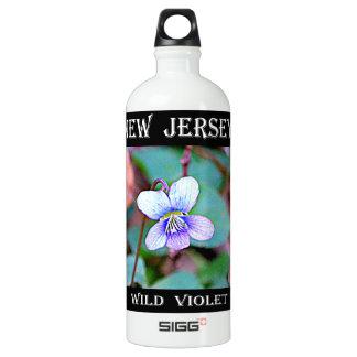 ニュージャージーの共通のバイオレット ウォーターボトル