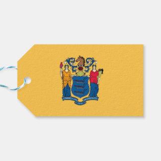 ニュージャージーの国家、米国の旗が付いているギフトのラベル ギフトタグ