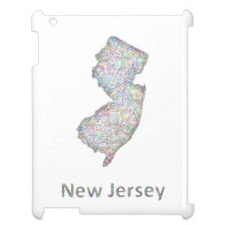 ニュージャージーの地図 iPad CASE