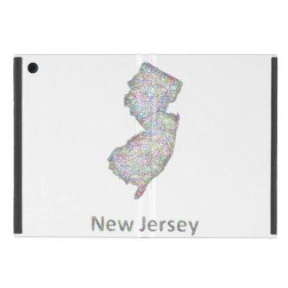 ニュージャージーの地図 iPad MINI ケース