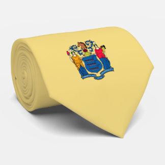 ニュージャージーの州の旗のデザイン カスタムネクタイ