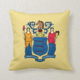 ニュージャージーの州の旗 クッション