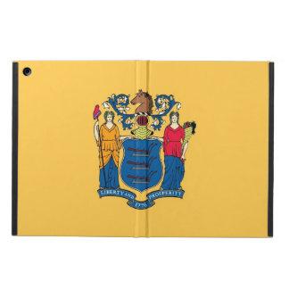 ニュージャージーの旗との愛国心が強いipadの場合 iPad airケース