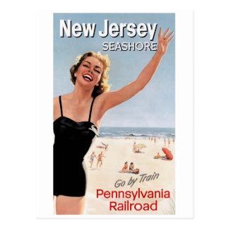 ニュージャージーの海岸 ポストカード