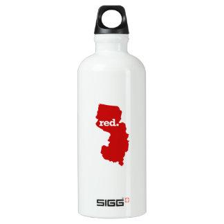 ニュージャージーの赤い州 ウォーターボトル