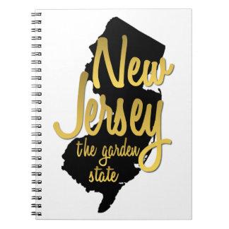 ニュージャージー-ガーデンステイト ノートブック