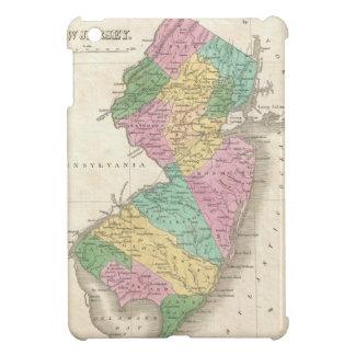 ニュージャージー(1827年)のヴィンテージの地図 iPad MINIカバー