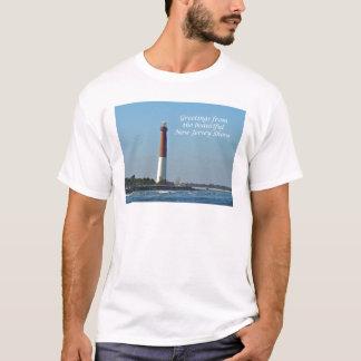 ニュージャージー- Barnegatライトからの挨拶 Tシャツ