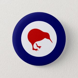 ニュージーランドのキーウィのroundelの軍の飛行記章 5.7cm 丸型バッジ