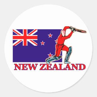 ニュージーランドのコオロギプレーヤー ラウンドシール