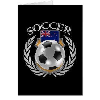 ニュージーランドのサッカー2016ファンのギア カード