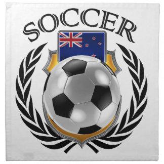 ニュージーランドのサッカー2016ファンのギア ナプキンクロス