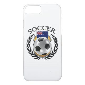 ニュージーランドのサッカー2016ファンのギア iPhone 8/7ケース