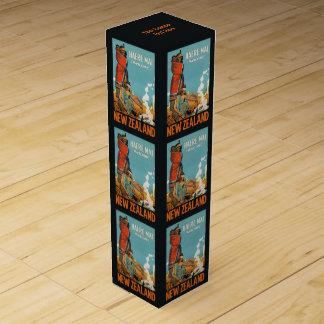 ニュージーランドのヴィンテージ旅行ワイン用化粧箱 ワインギフトボックス