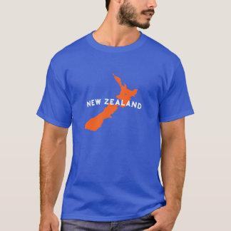 ニュージーランドの国のシルエット Tシャツ