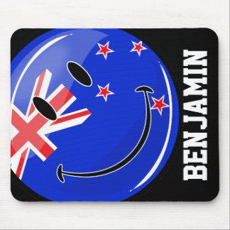 ニュージーランドの微笑の旗 マウスパッド