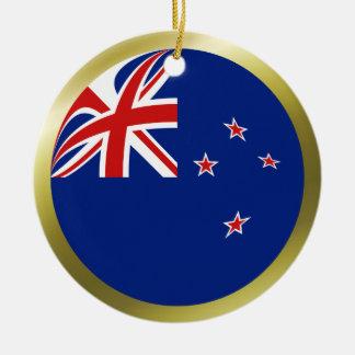 ニュージーランドの旗のオーナメント セラミックオーナメント