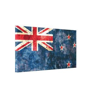 ニュージーランドの旗 キャンバスプリント