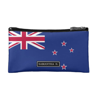 ニュージーランドの旗 コスメティックバッグ