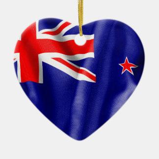 ニュージーランドの旗 セラミックオーナメント