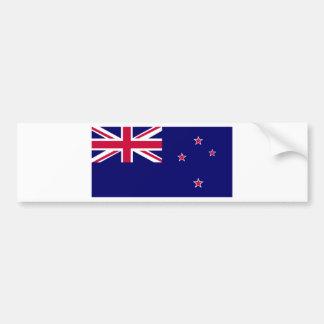ニュージーランドの旗 バンパーステッカー