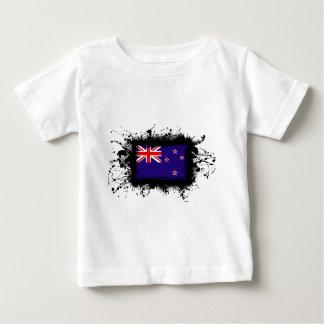 ニュージーランドの旗 ベビーTシャツ