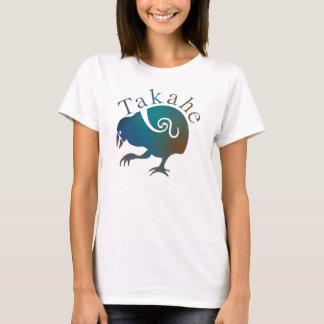 ニュージーランドの鳥TAKAHE Tシャツ