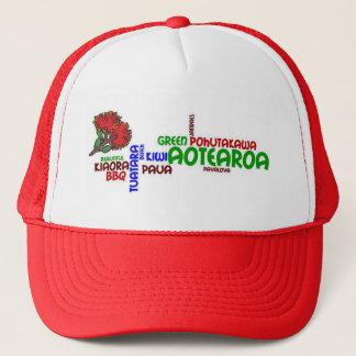 """ニュージーランドの""""kiwiana""""文化帽子 キャップ"""