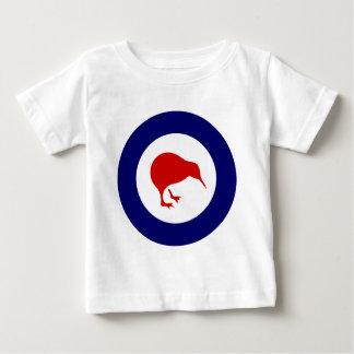 ニュージーランドのroundelのキーウィ ベビーTシャツ