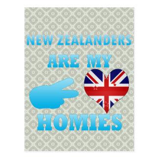ニュージーランド人は私のHomiesです ポストカード
