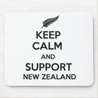 ニュージーランド穏やか、サポート保って下さい マウスパッド