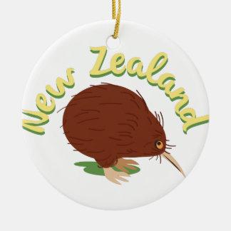 ニュージーランド セラミックオーナメント