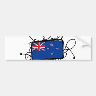 ニュージーランド バンパーステッカー