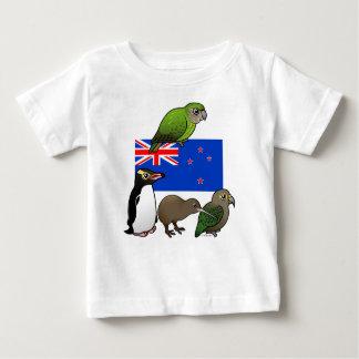 ニュージーランドBirdorables ベビーTシャツ