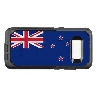 ニュージーランドSamsungのオッターボックスの場合の旗 オッターボックスコミューターSamsung Galaxy S8 ケース