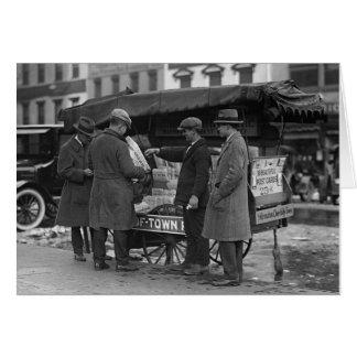 ニュースを読むこと、1925年 カード