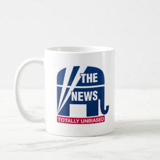 ニュース:  全く公平 コーヒーマグカップ