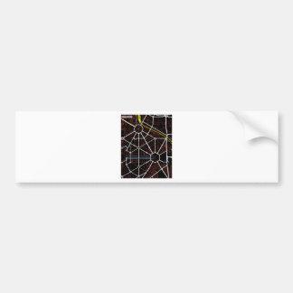 ニューデリーの未来の地図 バンパーステッカー