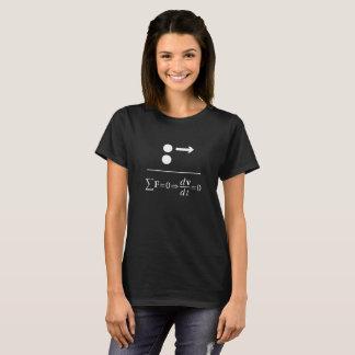 ニュートンの最初法律 Tシャツ